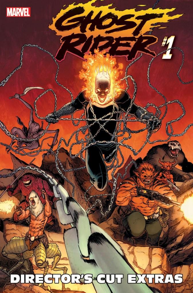 Ghost Rider #1 Director's Cut
