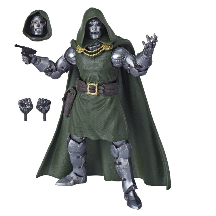 MARVEL FANTASTIC FOUR LEGENDS SERIES 6-INCH DOCTOR DOOM Figure