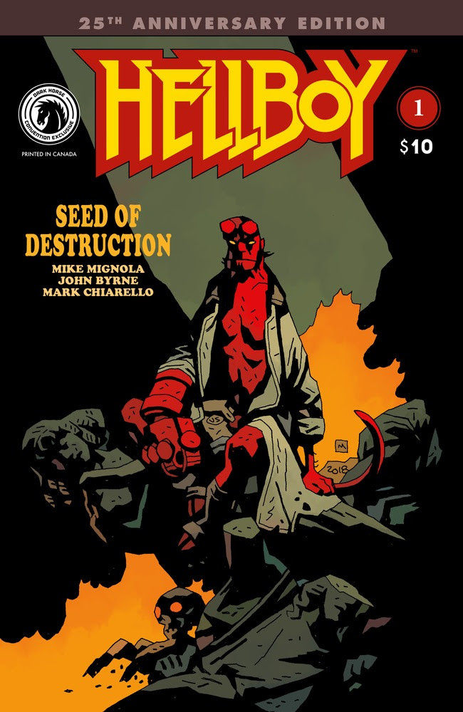 Hellboy: Seed of Destruction (25th Anniversary) #1 (Mike Mignola with Dave Stewart)