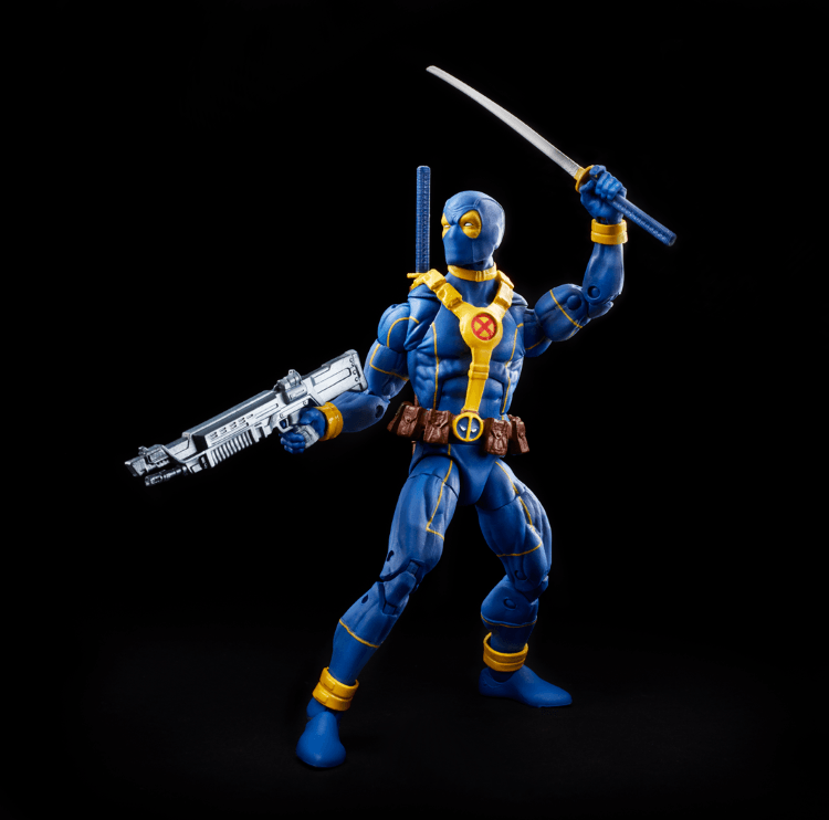 MARVEL DEADPOOL LEGENDS SERIES 6-INCH DEADPOOL BLUE & GOLD Figure