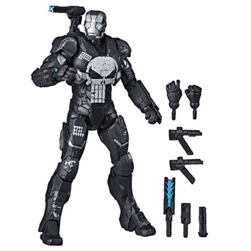 Marvel Legends Punisher in War Machine armor