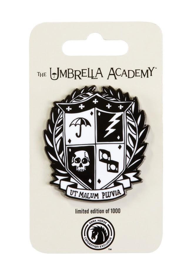 The Umbrella Academy Crest Pin