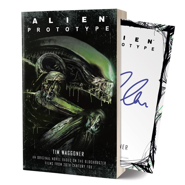 Alien: Prototype – The Official Novelization Signed Edition