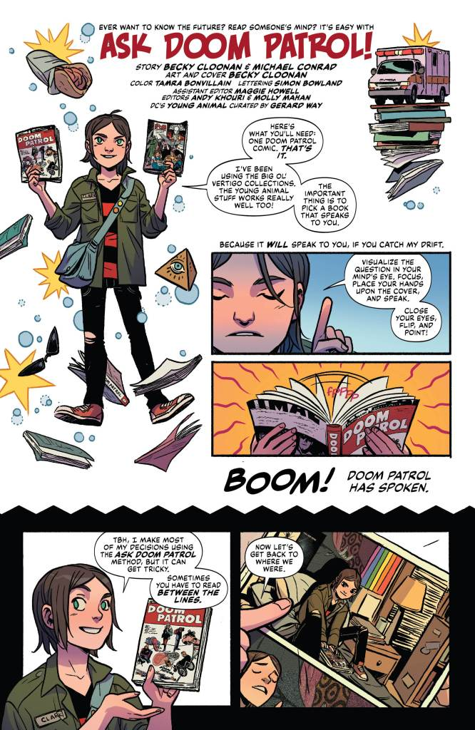Preview Doom Patrol Weight Of The Worlds 5 Graphic Policy