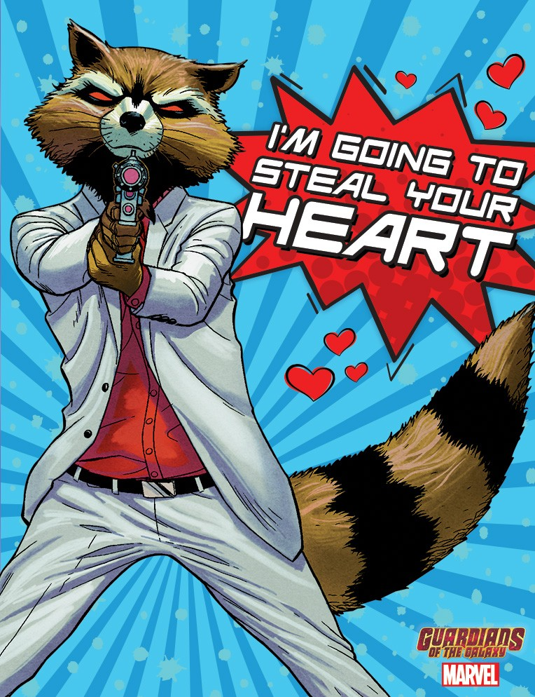 Be Mine Valentine Guardians of the Galaxy