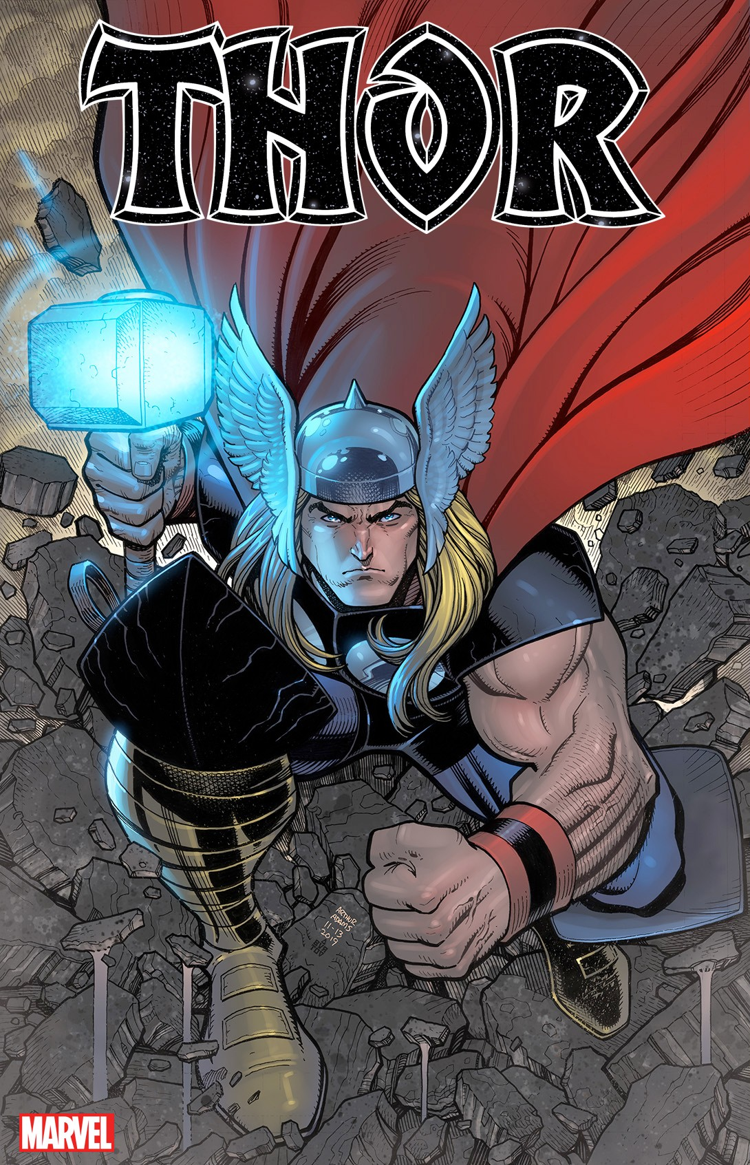Arthur Adams' Thor #1 Variant Cover is Revealed