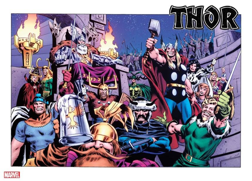 Thor #1 John Buscema variant