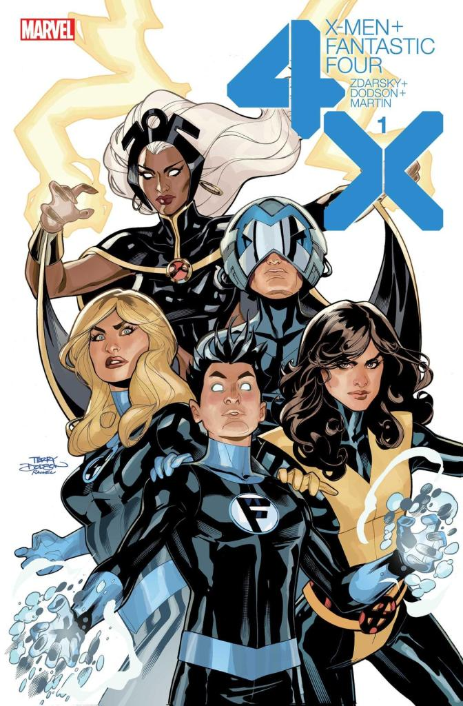 X-MEN/FANTASTIC FOUR #1 (OF 4)
