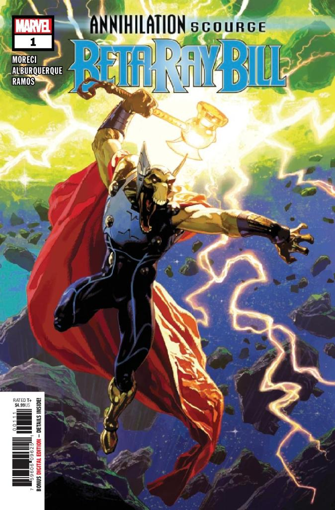 Annihilation Scourge: Beta Ray Bill #1