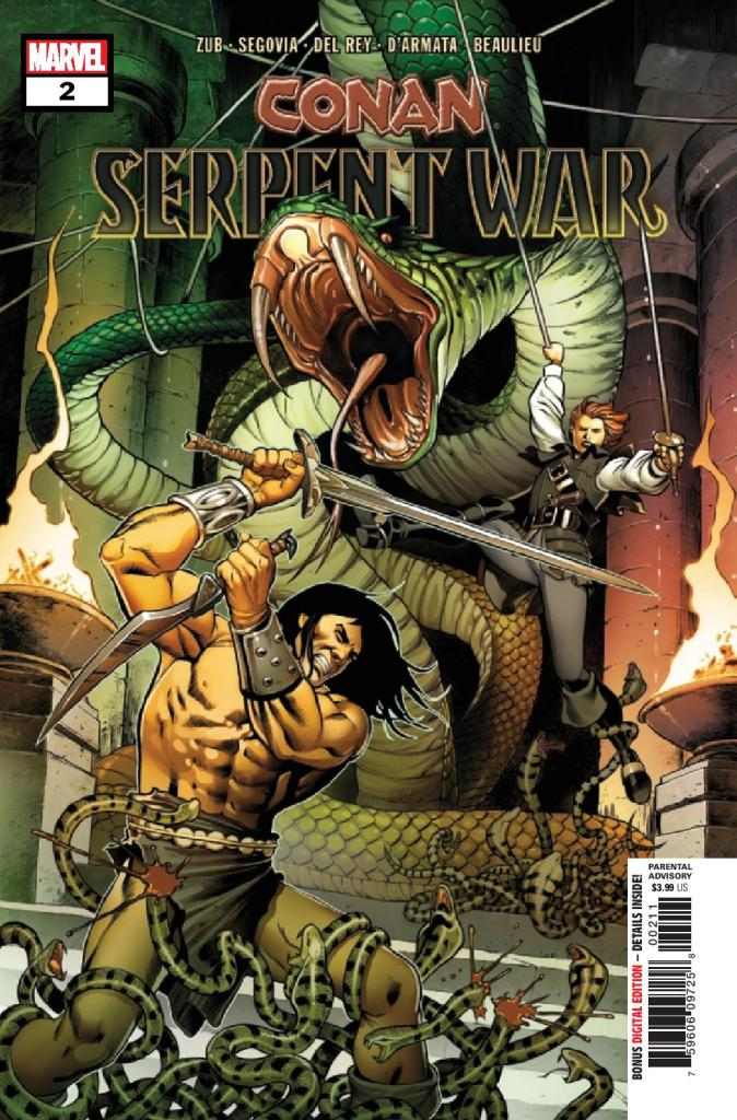 Conan: Serpent War #2 (of 4)