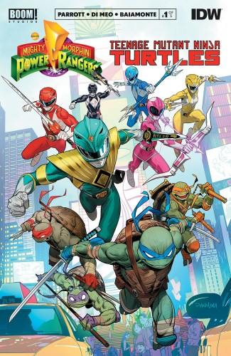 Mighty Morphin Power Rangers/ Teenage Mutant Ninja Turtles #1