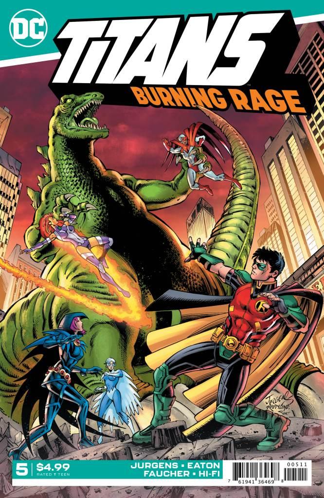 Titans: Burning Rage #5 (of 7)