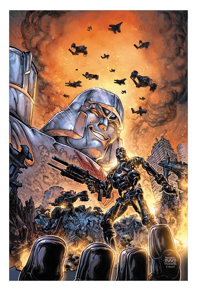 Transformers vs. The Terminator #1