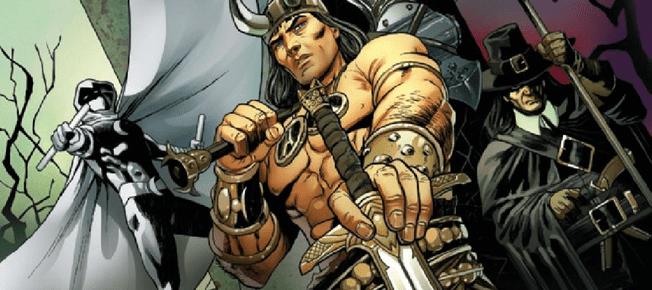 Conan: Serpent War #1 brings Robert E. Howard's Creations Together