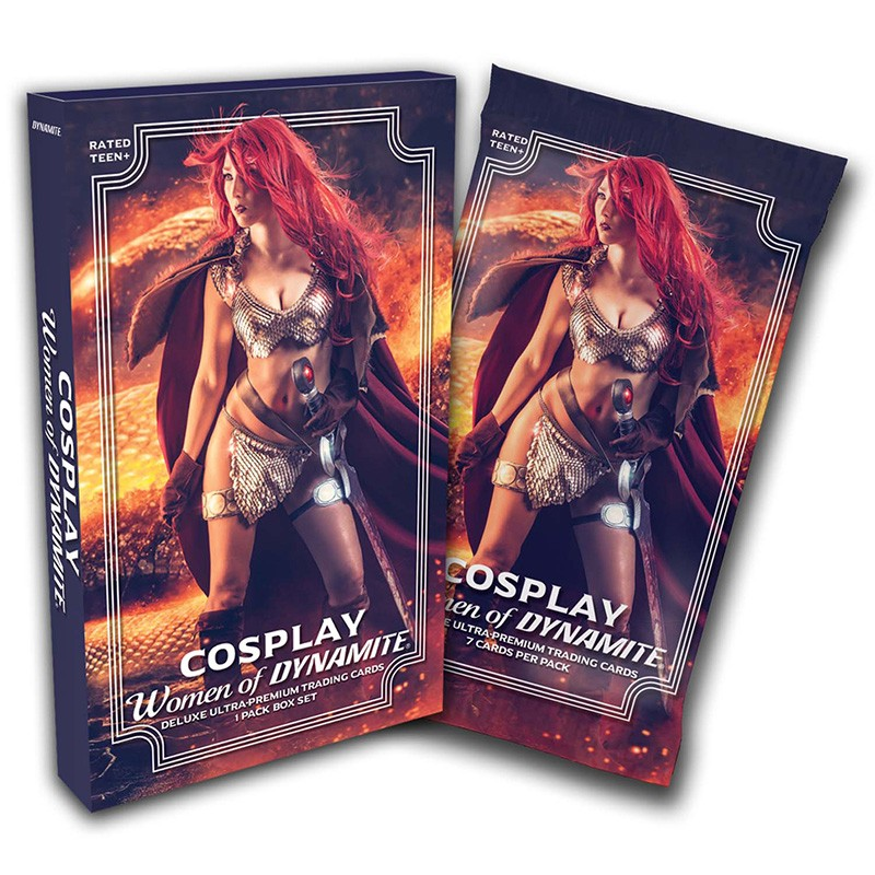 Cosplay Women of Dynamite Deluxe Trading Cards (Individual Foil Pack)