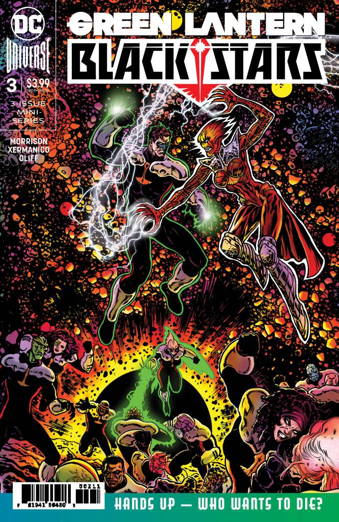 Green Lantern: Blackstars #3 (of 3)
