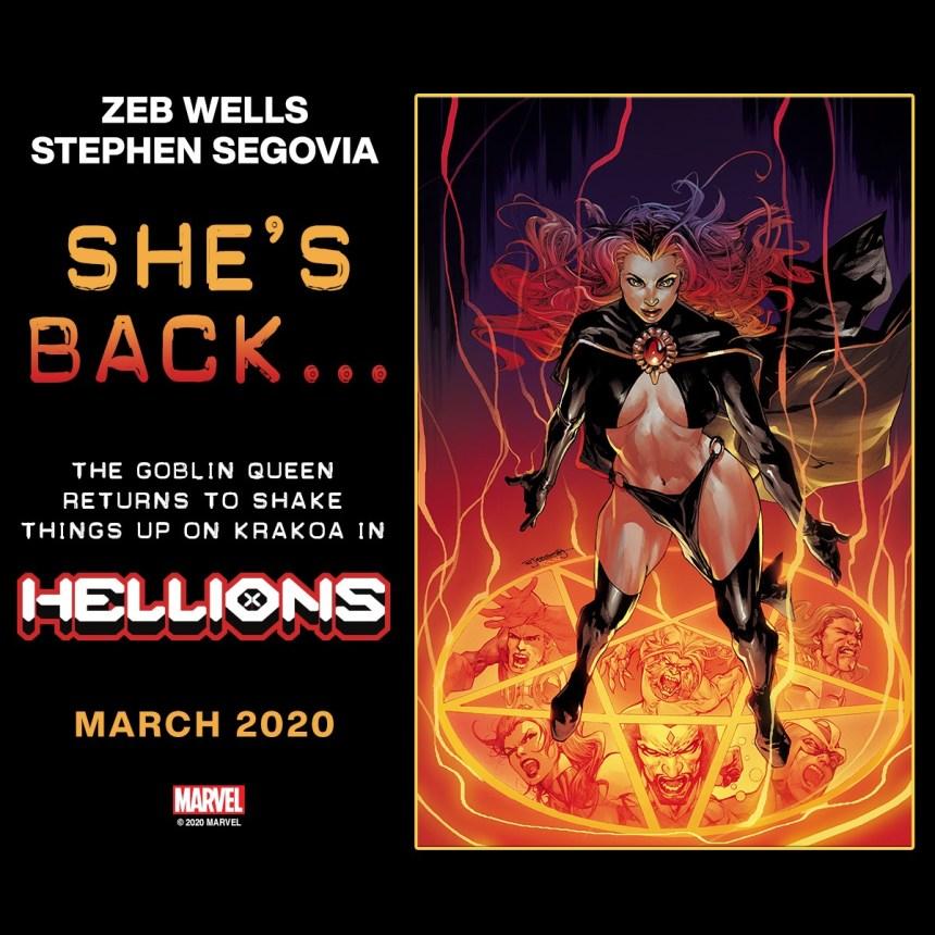 Hellions Madelyne Pryor teaser