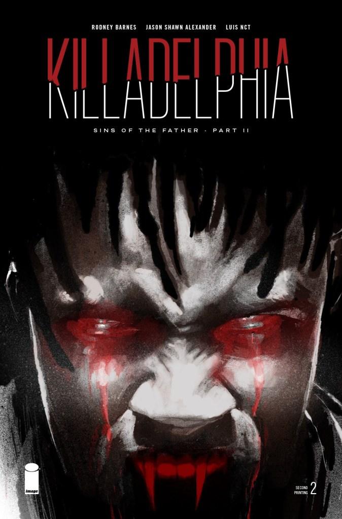 Killadelphia #2, second printing