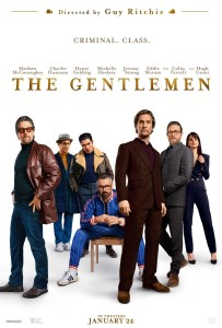 Guy Ritchie's The Gentlemen movie poster
