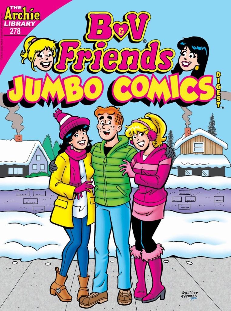 B&V FRIENDS JUMBO COMICS DIGEST #278