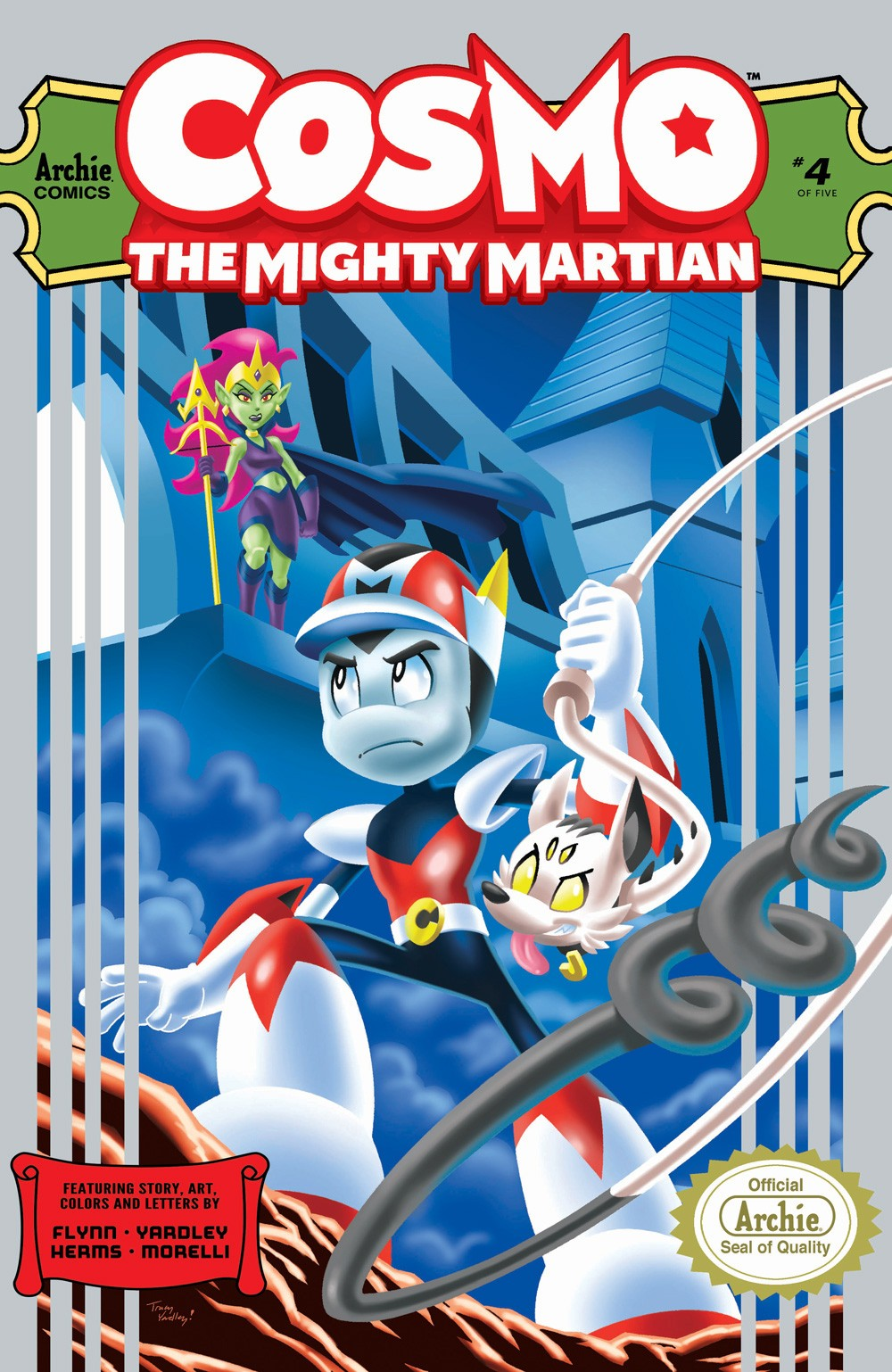 Preview: Cosmo the Mighty Martian #4 (of 5) | Graphic Policy