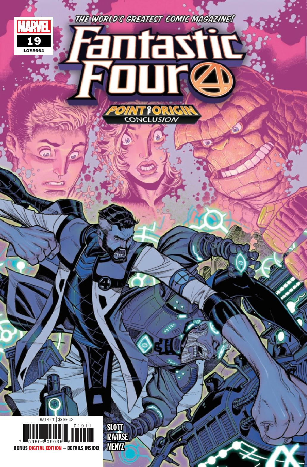 Preview: Fantastic Four #19 | Graphic Policy