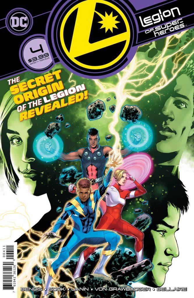 Legion of Suoer-Heroes #4