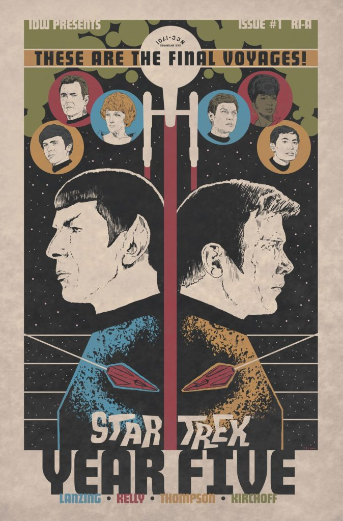 Star Trek: Year Five Vol. 1 Odysseys