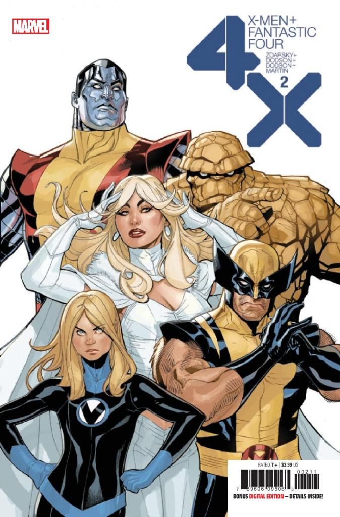 X-Men/Fantastic Four #2 (of 4)