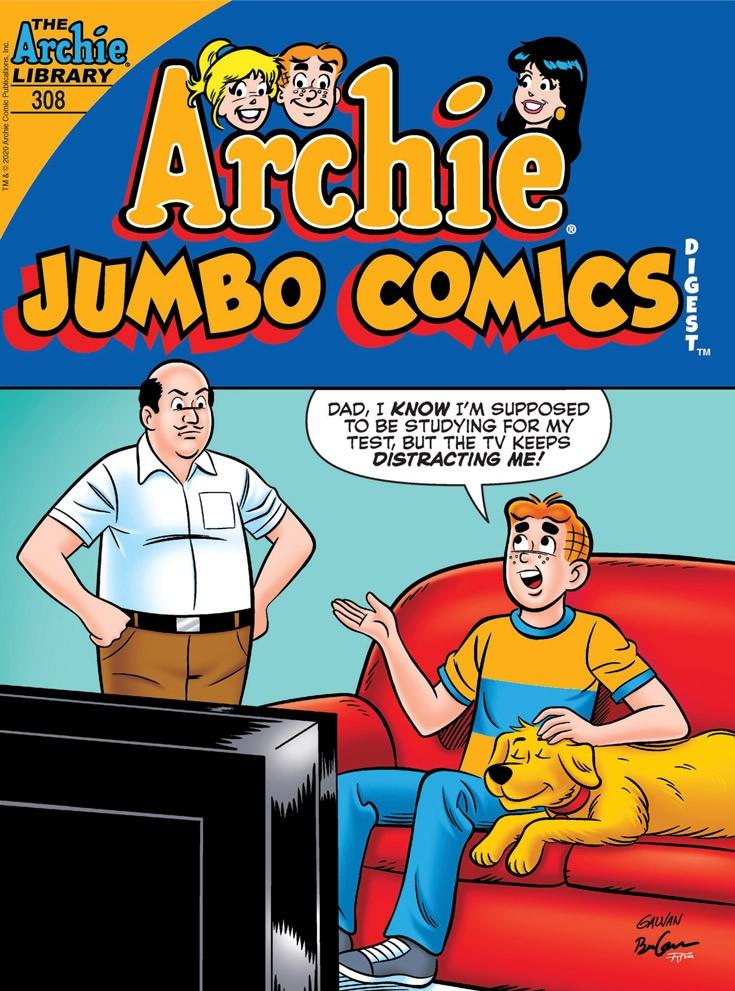 ARCHIE JUMBO COMICS DIGEST #308