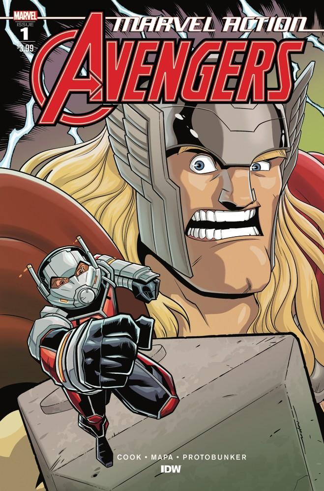Marvel Action: Avengers #1