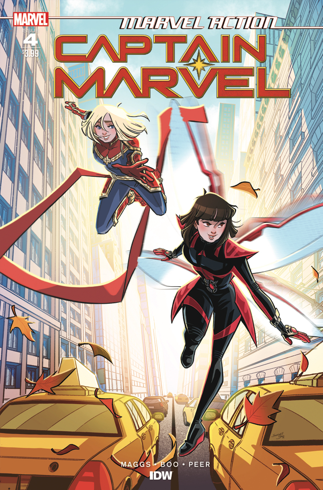 Marvel Action: Captain Marvel #4