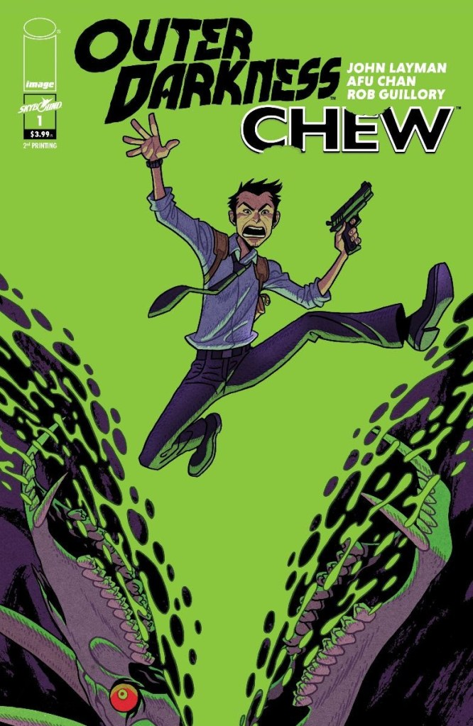 Outer Darkness/Chew #1, second printing
