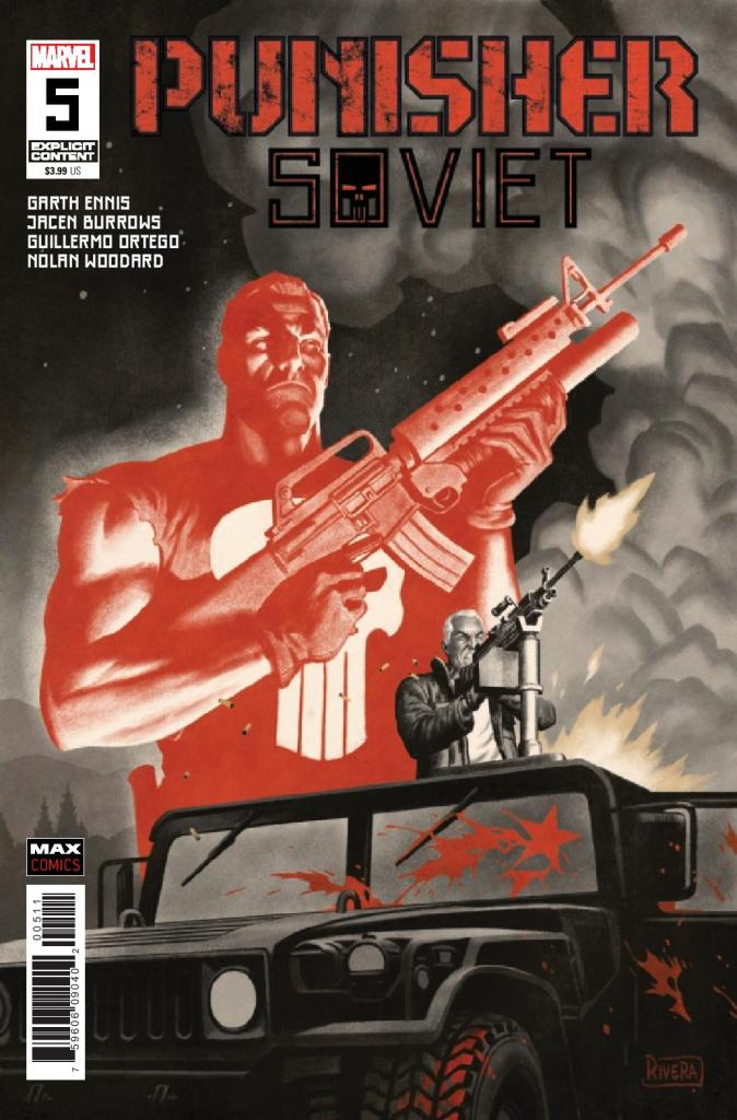 Punisher Soviet #5 (of 6)