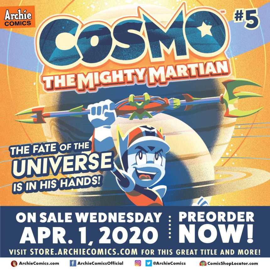 COSMO THE MIGHTY MARTIAN #5 (of 5)