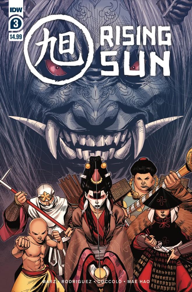 Rising Sun #3 (of 3)