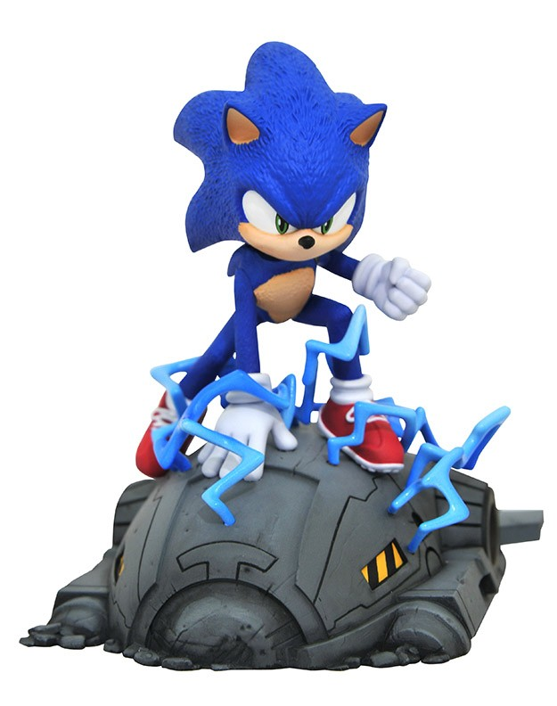 Sonic the Hedgehog Movie Sonic 1/6 Scale Statue
