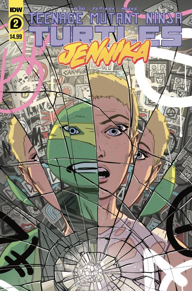 Teenage Mutant Ninja Turtles: Jennika #2 (of 3)