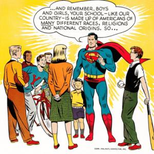 Superman ant-racist