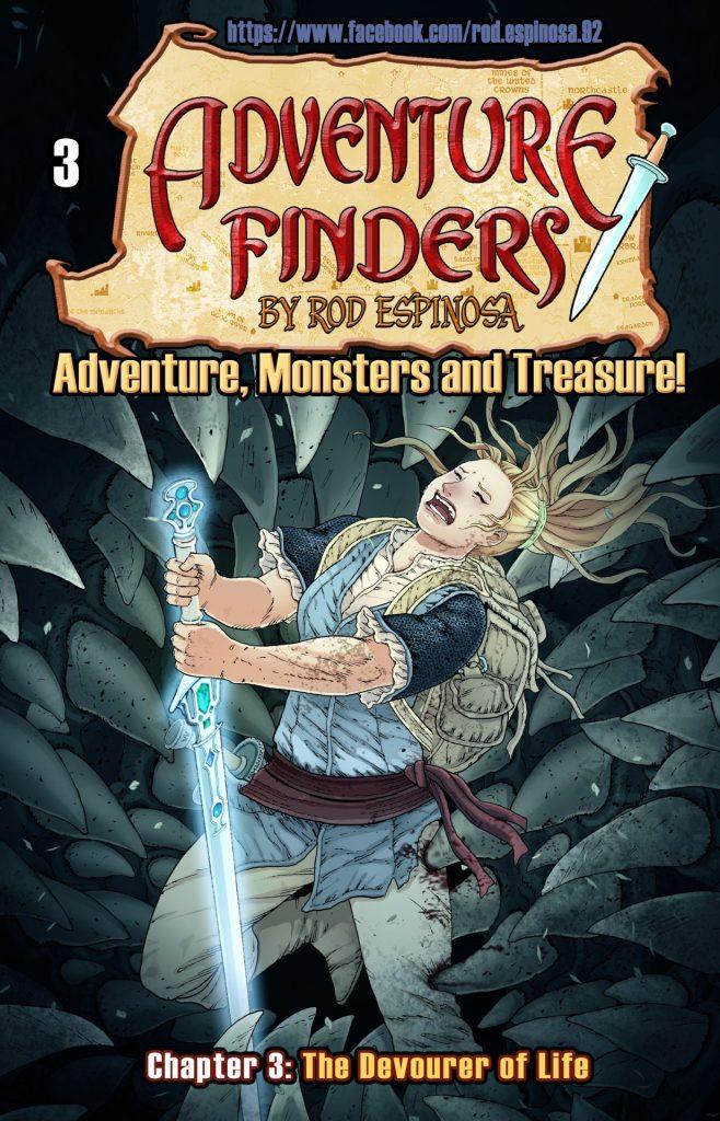 ADVENTURE FINDERS ADVENTURE, MONSTERS AND TREASURE! #3