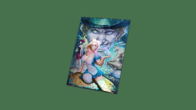 Alice in Wonderland – Alice- Art by Stanley 'Artgerm' Lau