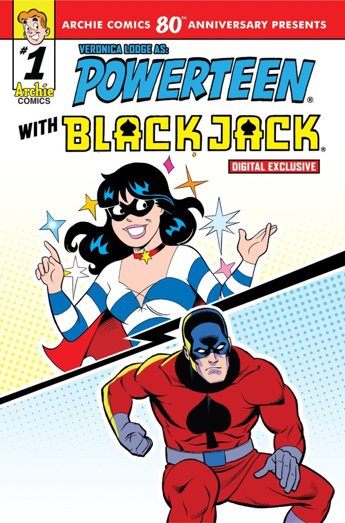 ARCHIE COMICS 80th ANNIVERSARY PRESENTS POWERTEEN + BLACKJACK