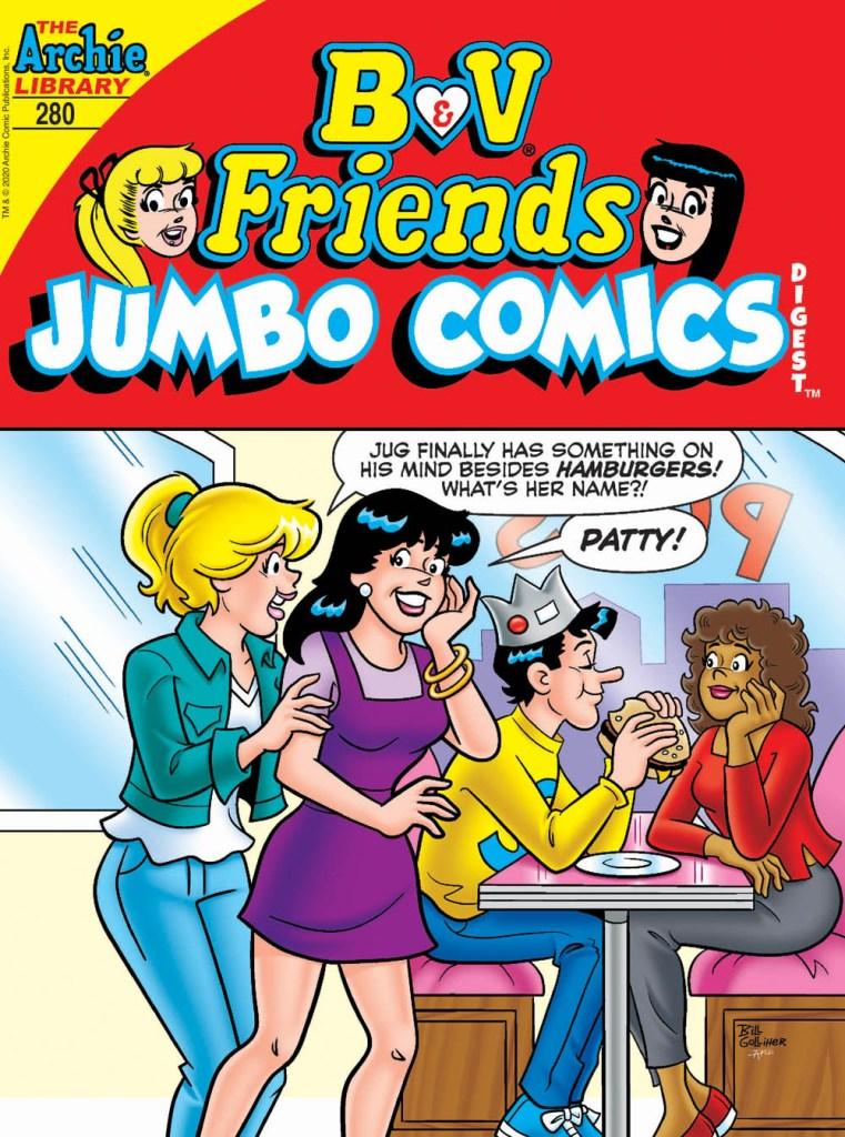 B&V FRIENDS JUMBO COMICS DIGEST #280