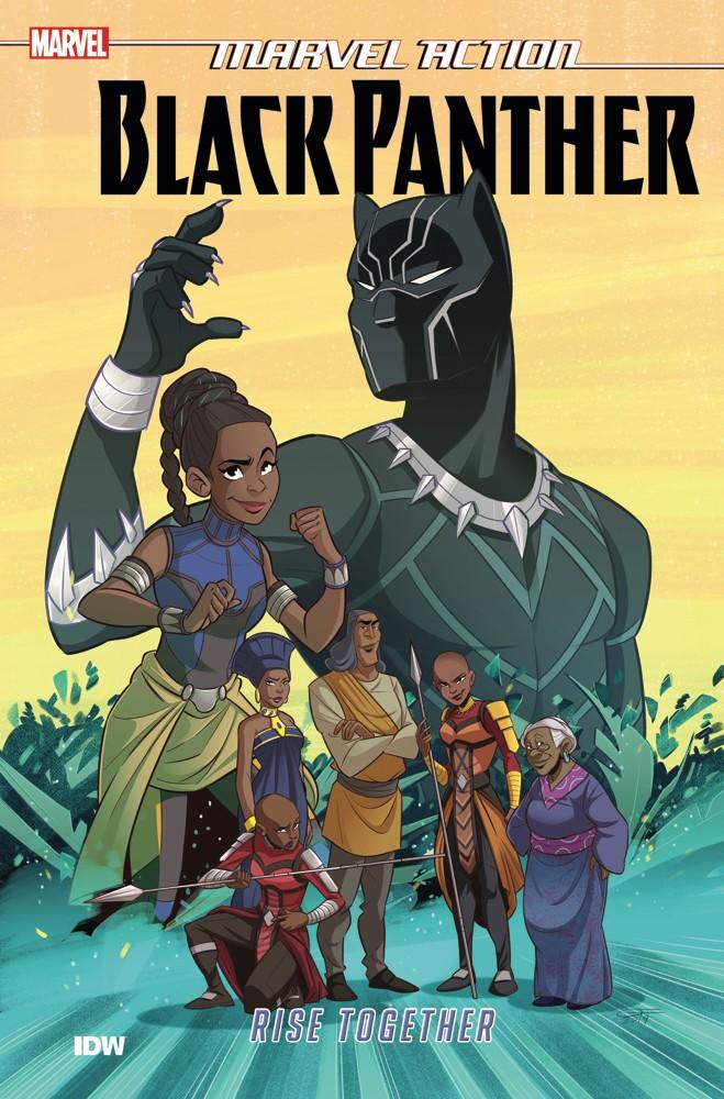 Marvel Action: Black Panther: Rise Together