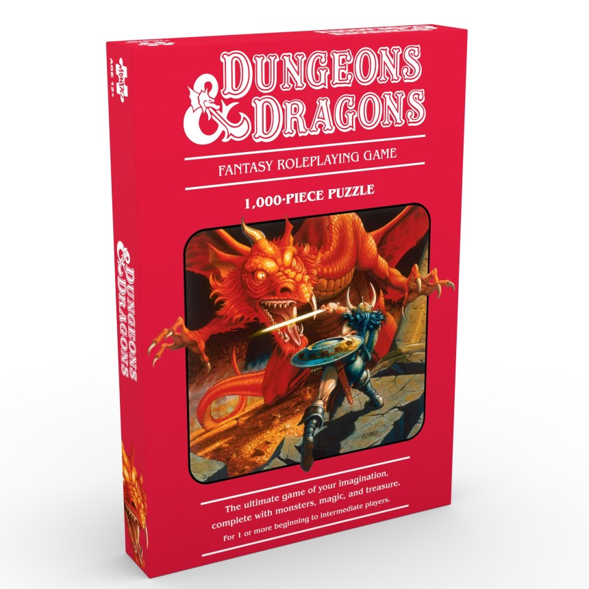 DUNGEONS & DRAGONS / featuring iconic art from the D&D archives