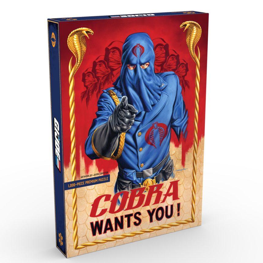G.I. JOE: COBRA WANTS YOU! / art by Jason Edmiston
