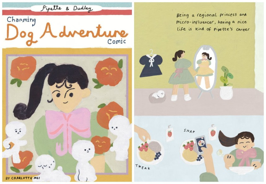 Pippette and Dudley's Charming Dog Adventure