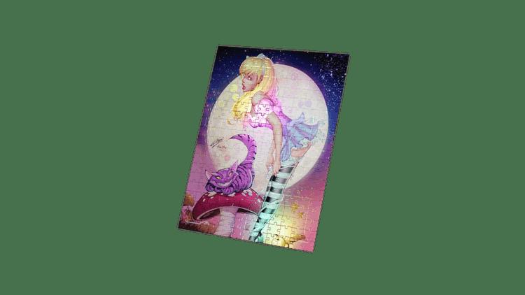 Revenge of Wonderland - Alice & Cheshire – Art by Paul Green
