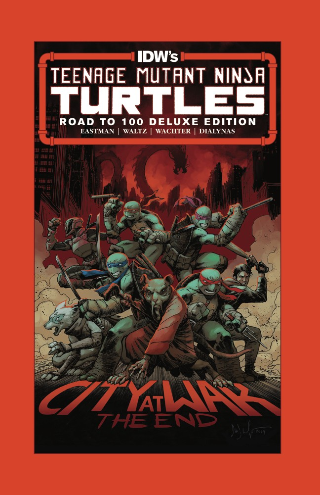Teenage Mutant Ninja Turtles: Road to 100 Deluxe Edition