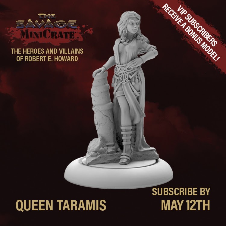 Queen Taramis The Savage Crate
